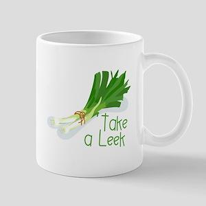 Take a Leek Mugs