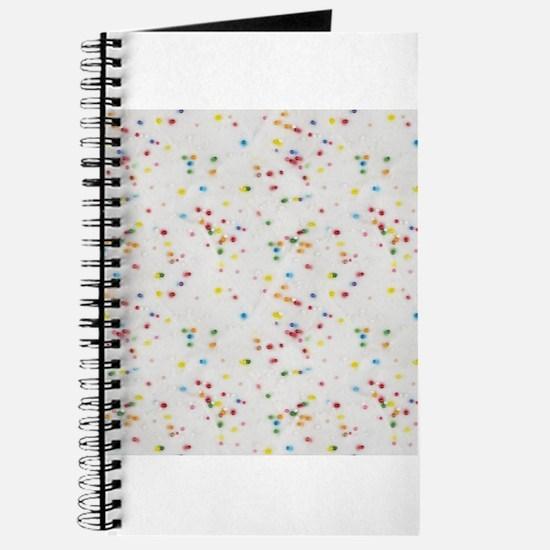 Colored Sprinkles Journal