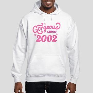 2002 Birth Year Gorgeous Hooded Sweatshirt
