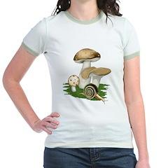 Snail in Mushroom Garden T