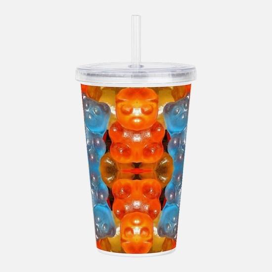 Unique Pop bear Acrylic Double-wall Tumbler