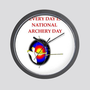 archery Wall Clock