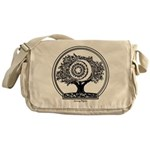 Silver And Golden Apples Messenger Bag