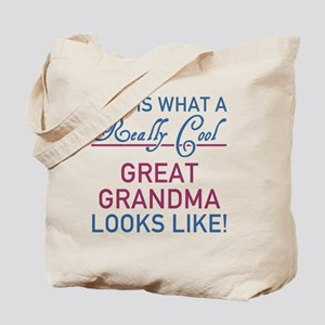 Really Cool Great Grandma Tote Bag