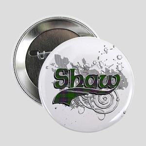 "Shaw Tartan Grunge 2.25"" Button"