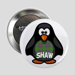 "Shaw Tartan Penguin 2.25"" Button"