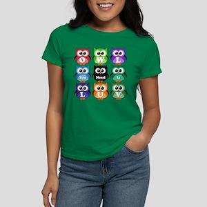 Owl You Need Is Love!!! Women's Dark T-Shirt