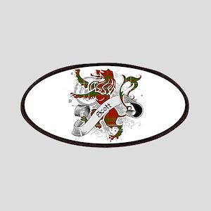 Scott Tartan Lion Patches