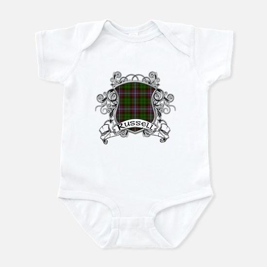 Russell Tartan Shield Infant Bodysuit