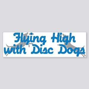Disc Dogs Fly High Sticker (Bumper)