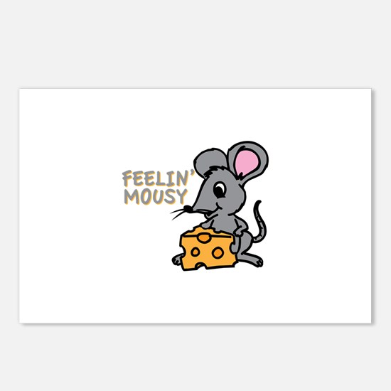 Feelin Mousy Postcards (Package of 8)