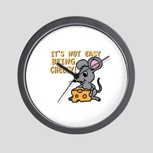 Easy Being Cheesy Wall Clock