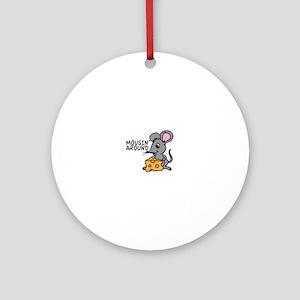 Mousin Around Ornament (Round)