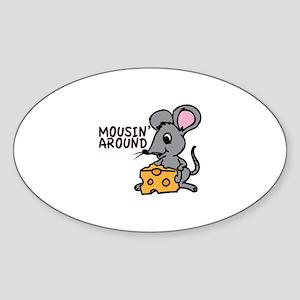 Mousin Around Sticker