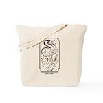 Sky Lizard Tote Bag