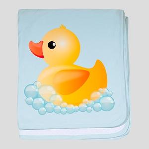 Rubber Duck baby blanket
