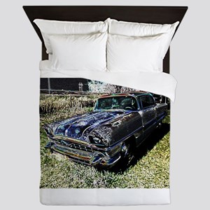 Classic Car Queen Duvet
