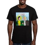 Tick Pet Men's Fitted T-Shirt (dark)
