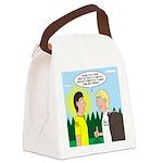Tick Pet Canvas Lunch Bag