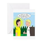 Tick Pet Greeting Card