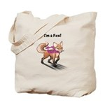 'i'm A Fox' Tote Bag