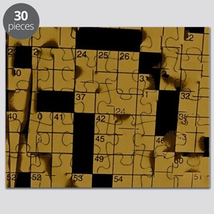Abstract Crossword Puzzle Puzzle
