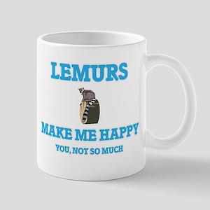 Lemurs Make Me Happy Mugs