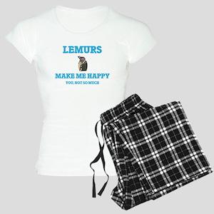 Lemurs Make Me Happy Pajamas