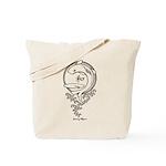 Peace Carp Tote Bag