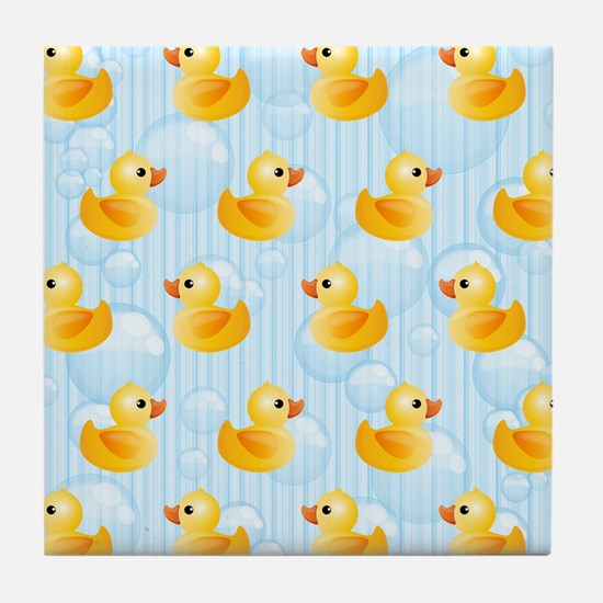 Little Ducks Tile Coaster