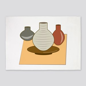 Pottery 5'x7'Area Rug