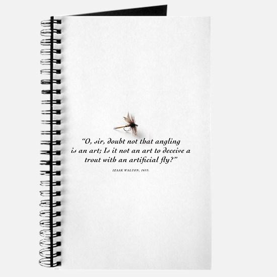Angling is an art Journal