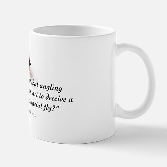 Angling is an art Mug