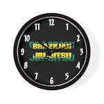 Brazilian Jiu Jitsu Wall Clock