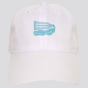 Toothpaste Keep Your Smile Bright Baseball Cap