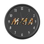 MMA Large Wall Clock