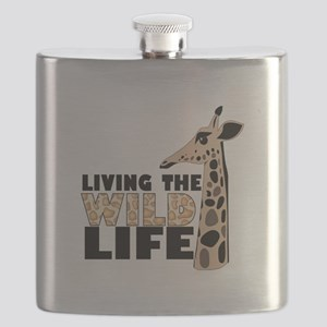 LIVING THE WILD LIFE Flask
