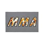 MMA 3'x5' Area Rug