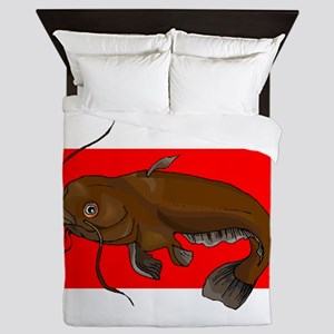 Catfish Queen Duvet