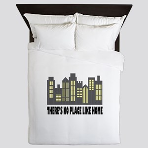 No Place Like Home Queen Duvet