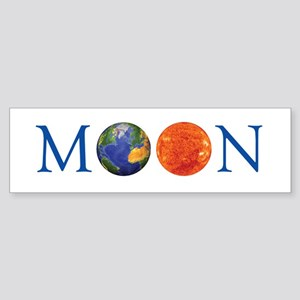 MOON Sticker (Bumper)