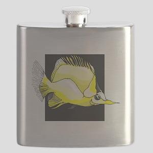 Yellow Needlenose Fish Flask