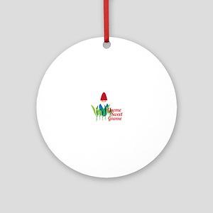 Gnome Sweet Gnome Ornament (Round)