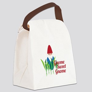 Gnome Sweet Gnome Canvas Lunch Bag