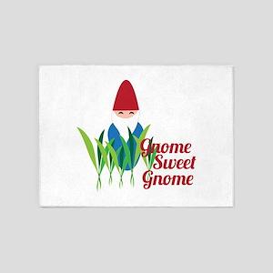 Gnome Sweet Gnome 5'x7'Area Rug
