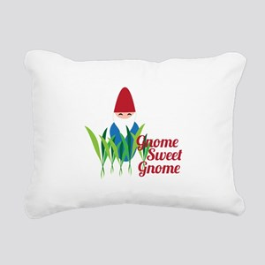 Gnome Sweet Gnome Rectangular Canvas Pillow