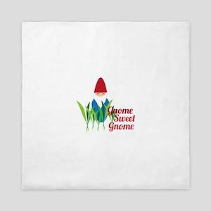 Gnome Sweet Gnome Queen Duvet
