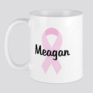 Meagan pink ribbon Mug