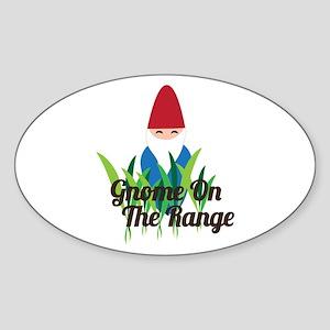 Gnome On The Range Sticker