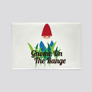 Gnome On The Range Magnets